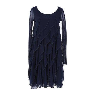 Jean Paul Gaultier Soleil Navy Dress