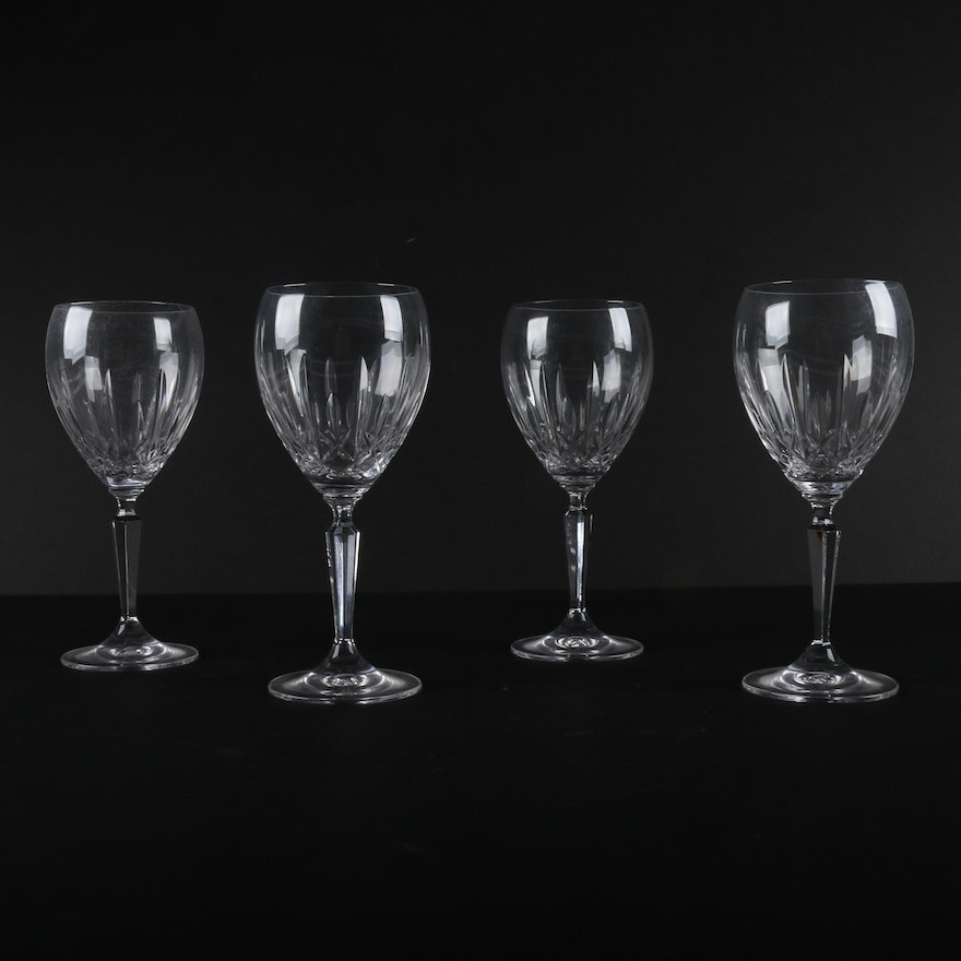Waterford crystal kildare wine glasses ebth - Wedgwood crystal wine glasses ...