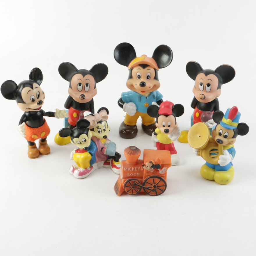 Mickey Mouse Toy Figurines : EBTH