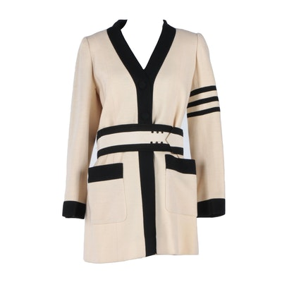 Women's Vintage Cardinali Belted Jacket
