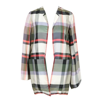 Women's Vintage Cardinali Plaid Jacket