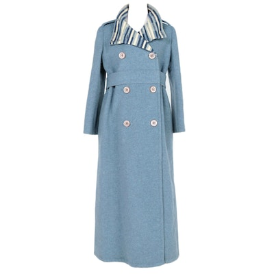 Women's Vintage Cardinali Full-Length Coat