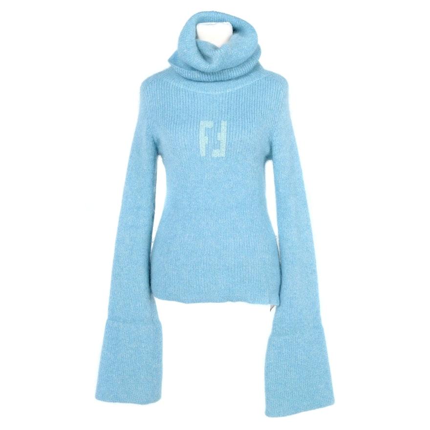Women's Fendi Alpaca Cashmere Blend Sweater