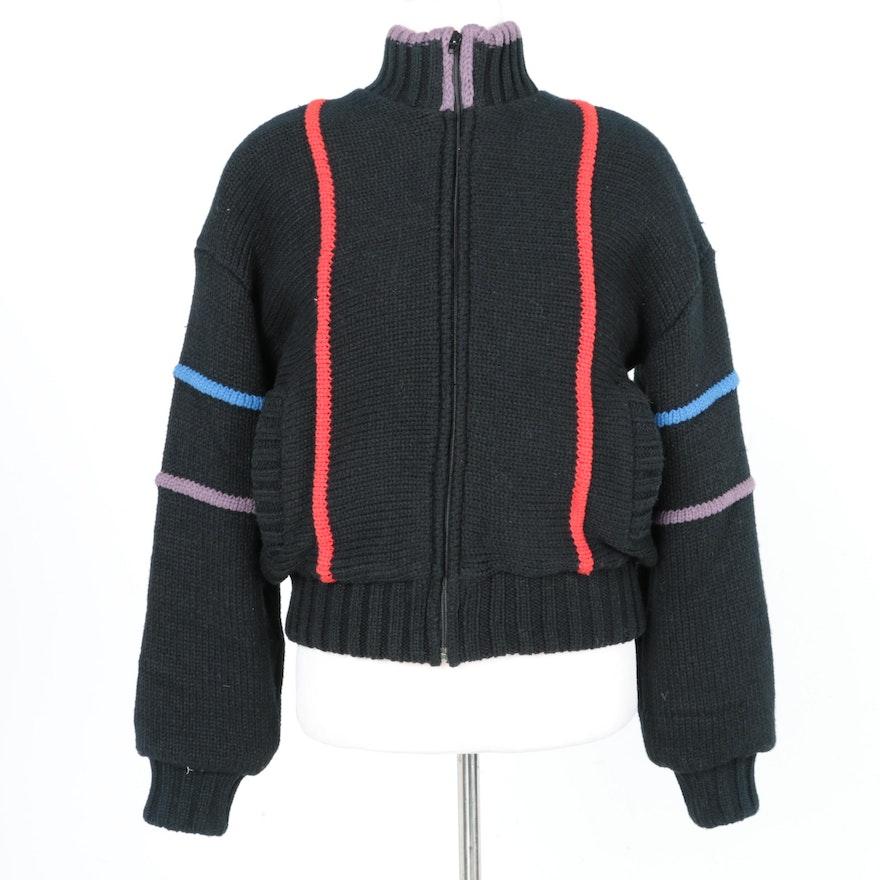 Women's Braetan for Saks Fifth Avenue Black Knit Jacket