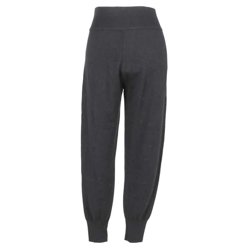 Alaïa Black Wool Pants