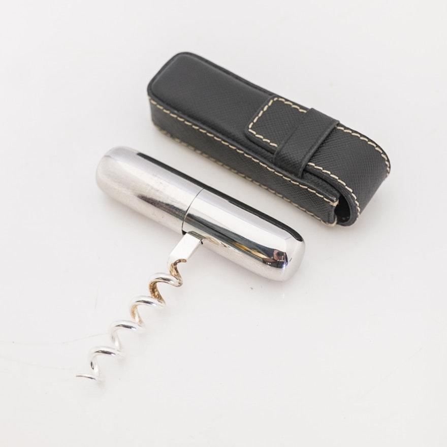 Prada Folding Corkscrew in case