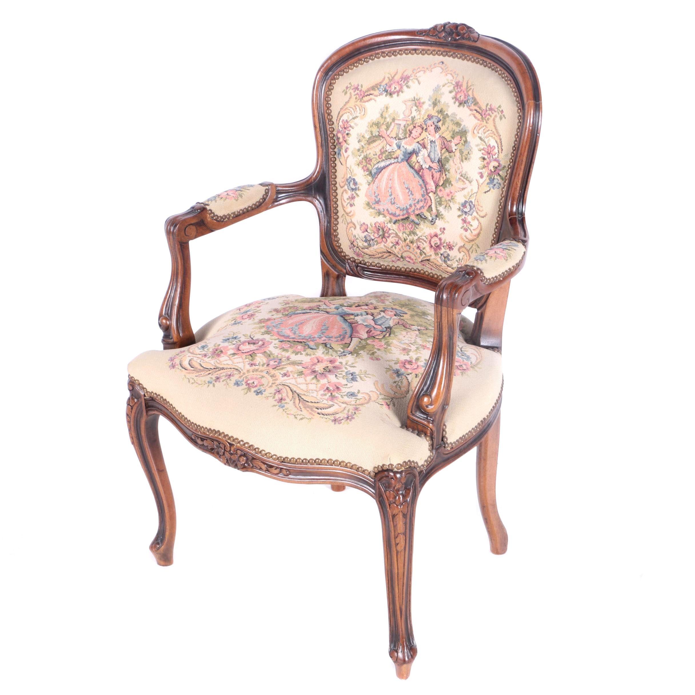 Gentil Contemporary Louis XV Chair By Chateau Du0027 ...