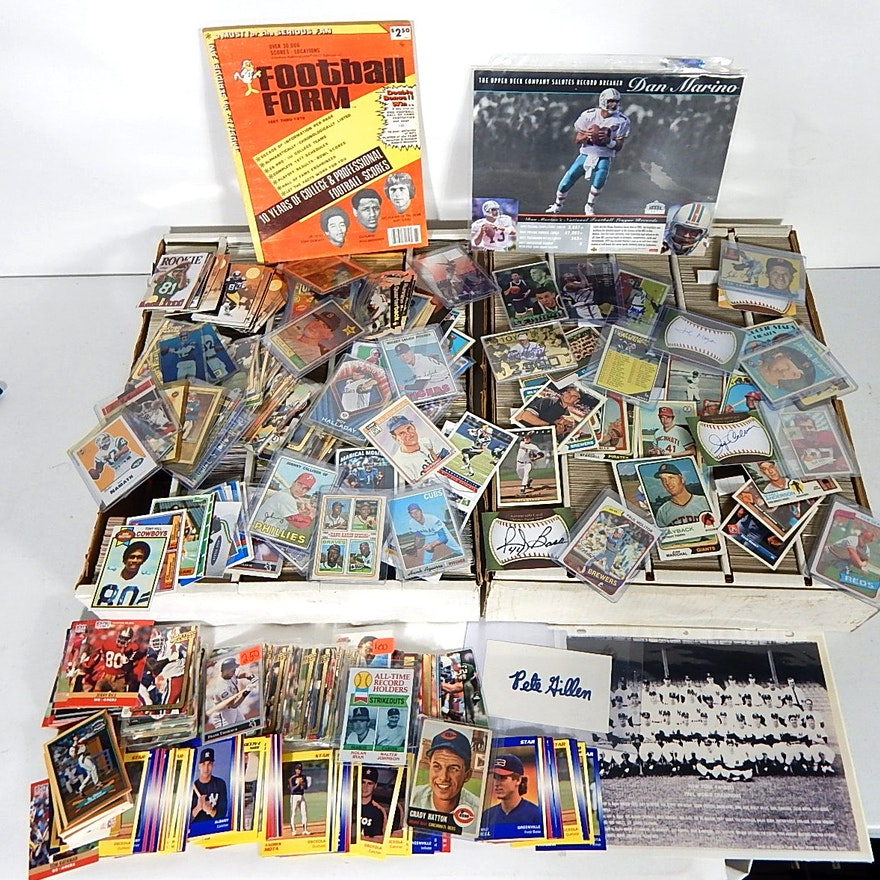 Large Sports Card Collection With Appx 10 000 Cards Ebth