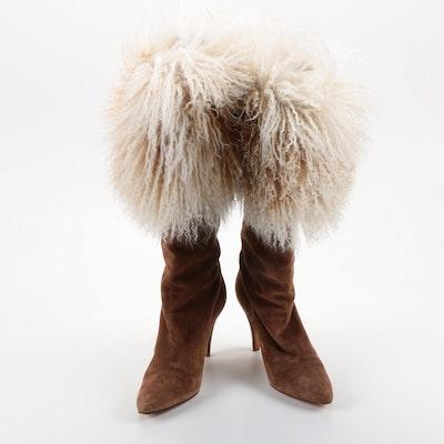 Andrea Pfister Mongolian Sheepskin Boots
