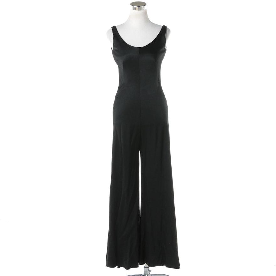 Vintage Cardinali Black Jumpsuit