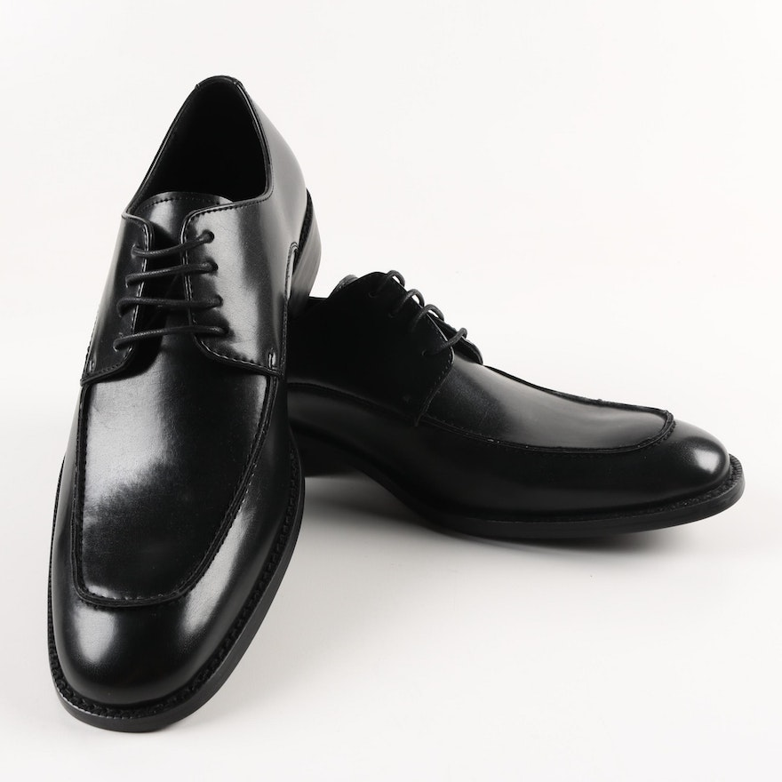 Mens Unlisted By Kenneth Cole Black Leather Dress Shoes Ebth