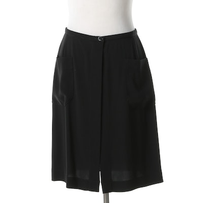 Chanel Open Front Skirt