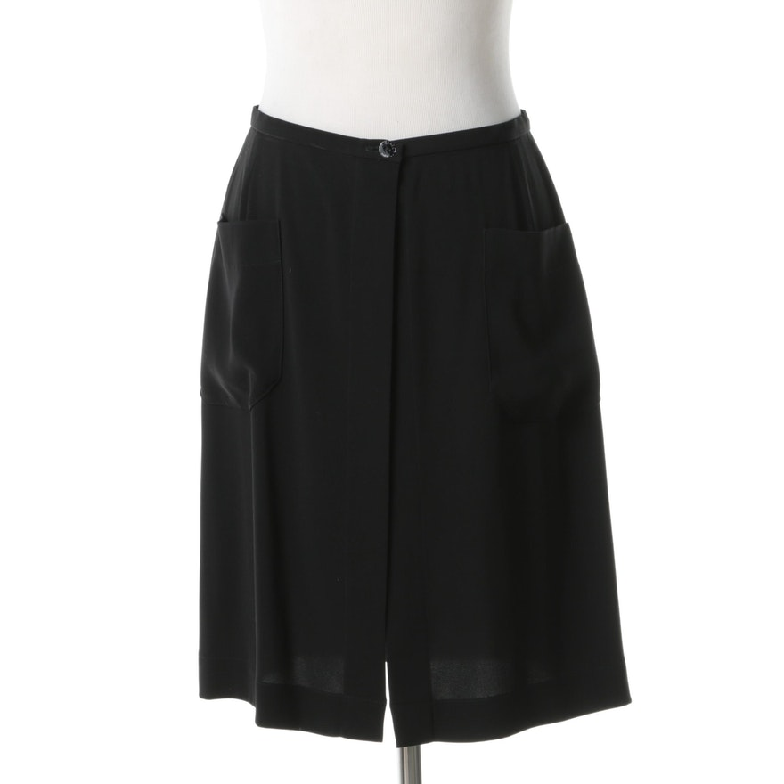 Chanel Open Front Skirt
