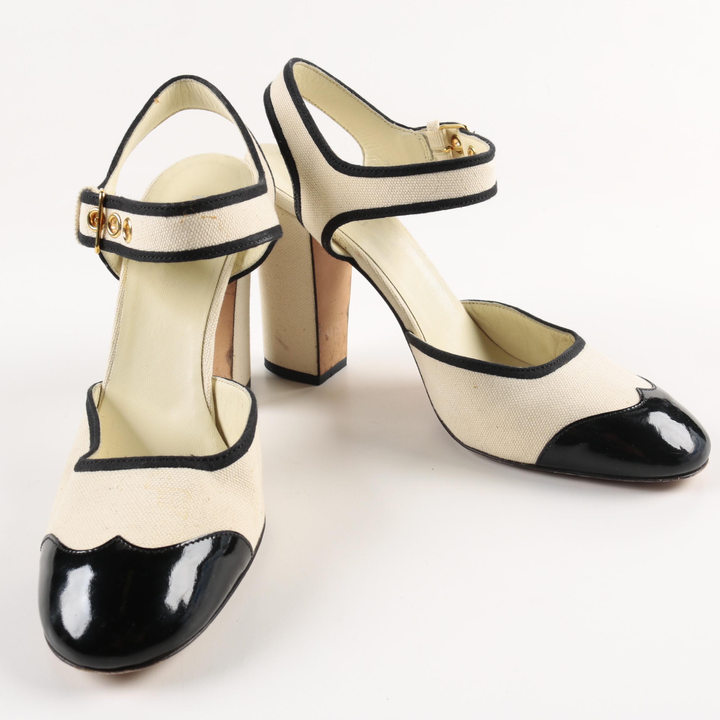 Miu Miu Spectator Style Heels