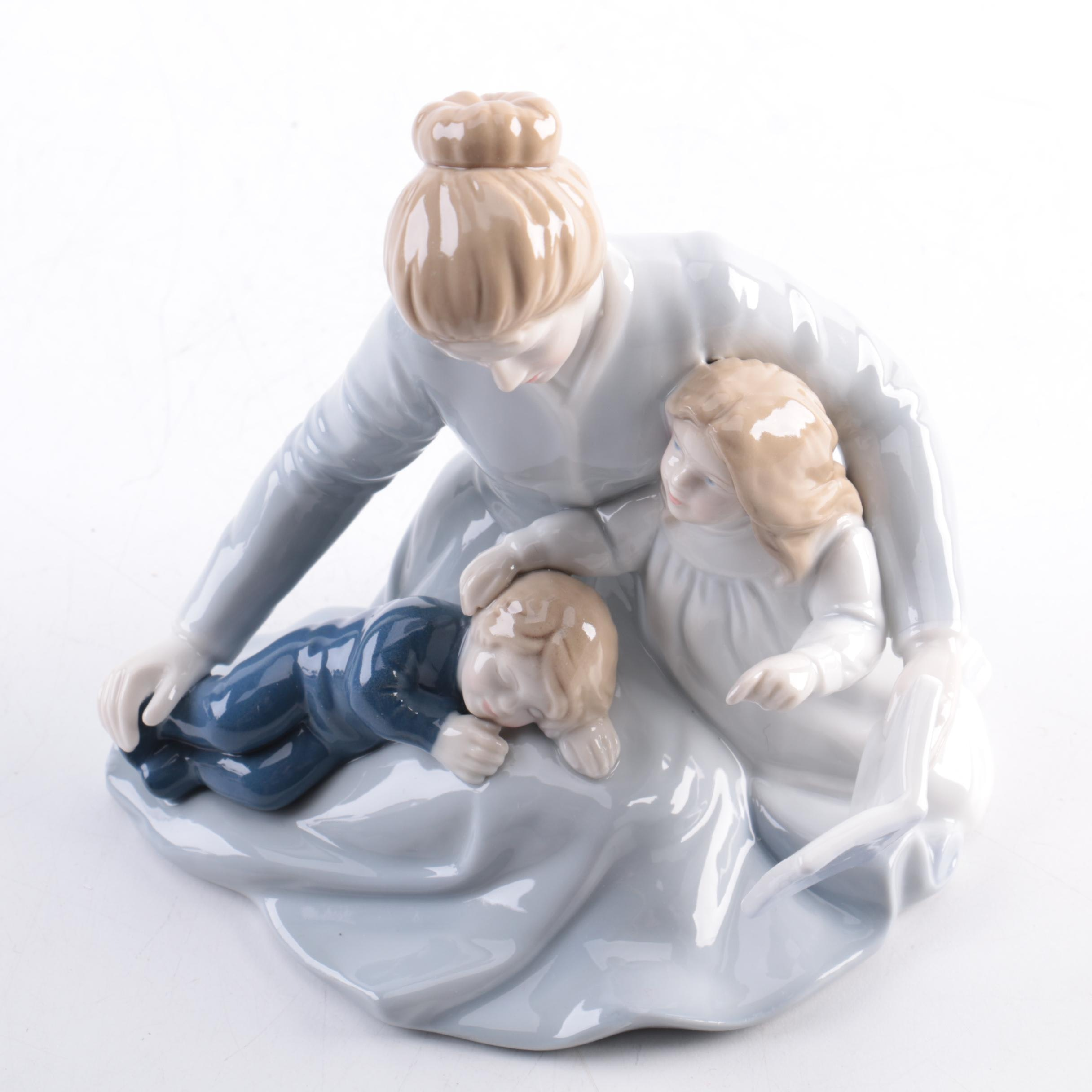 """A Mother's Touch"" Vintage Avon Figurine."