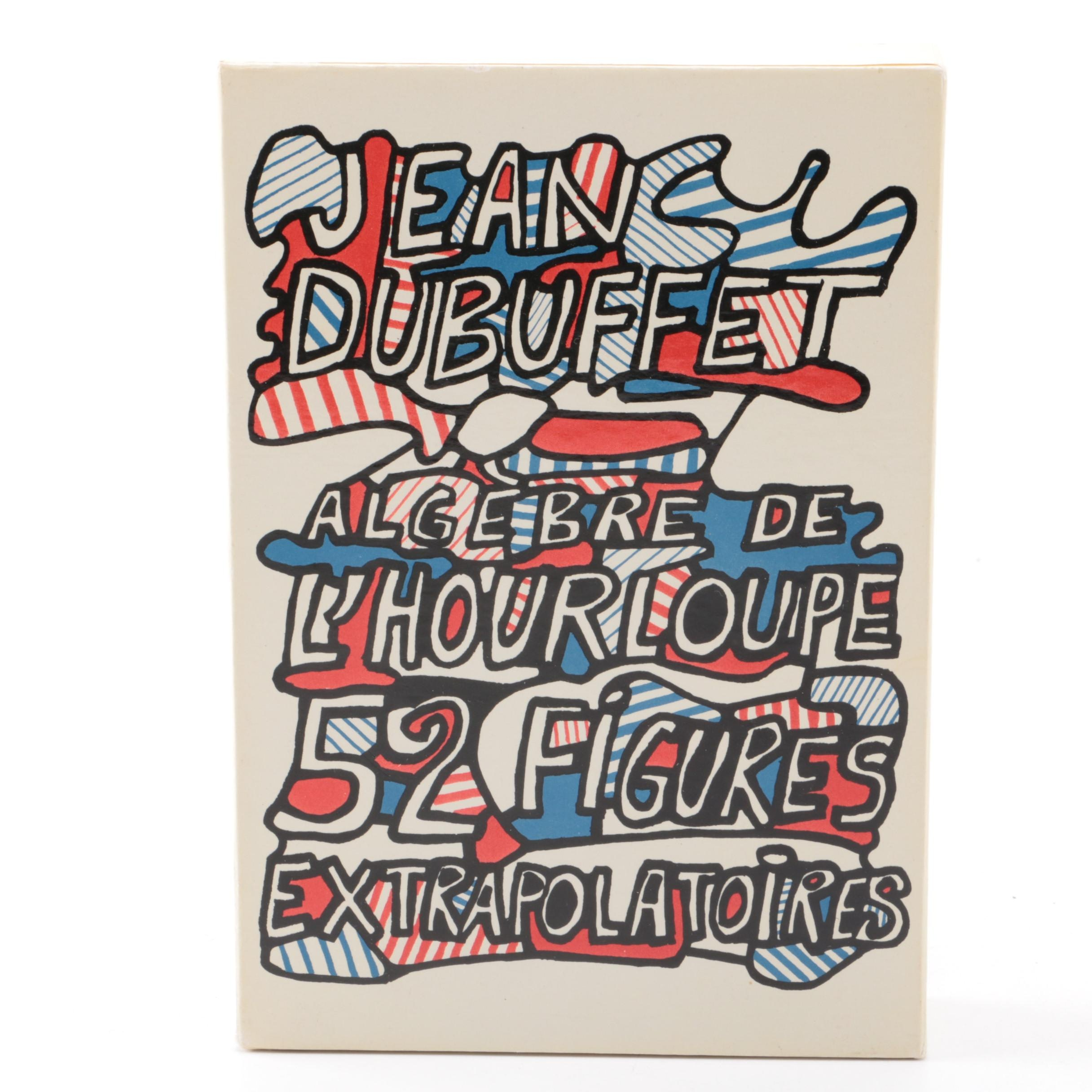 "Jean Dubuffet Set of Printed Cards on Paper ""52 Figures Extrapolatoires"""