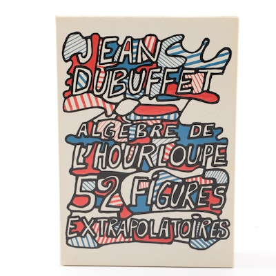 """Jean Dubuffet Set of Printed Cards on Paper """"52 Figures Extrapolatoires"""""""