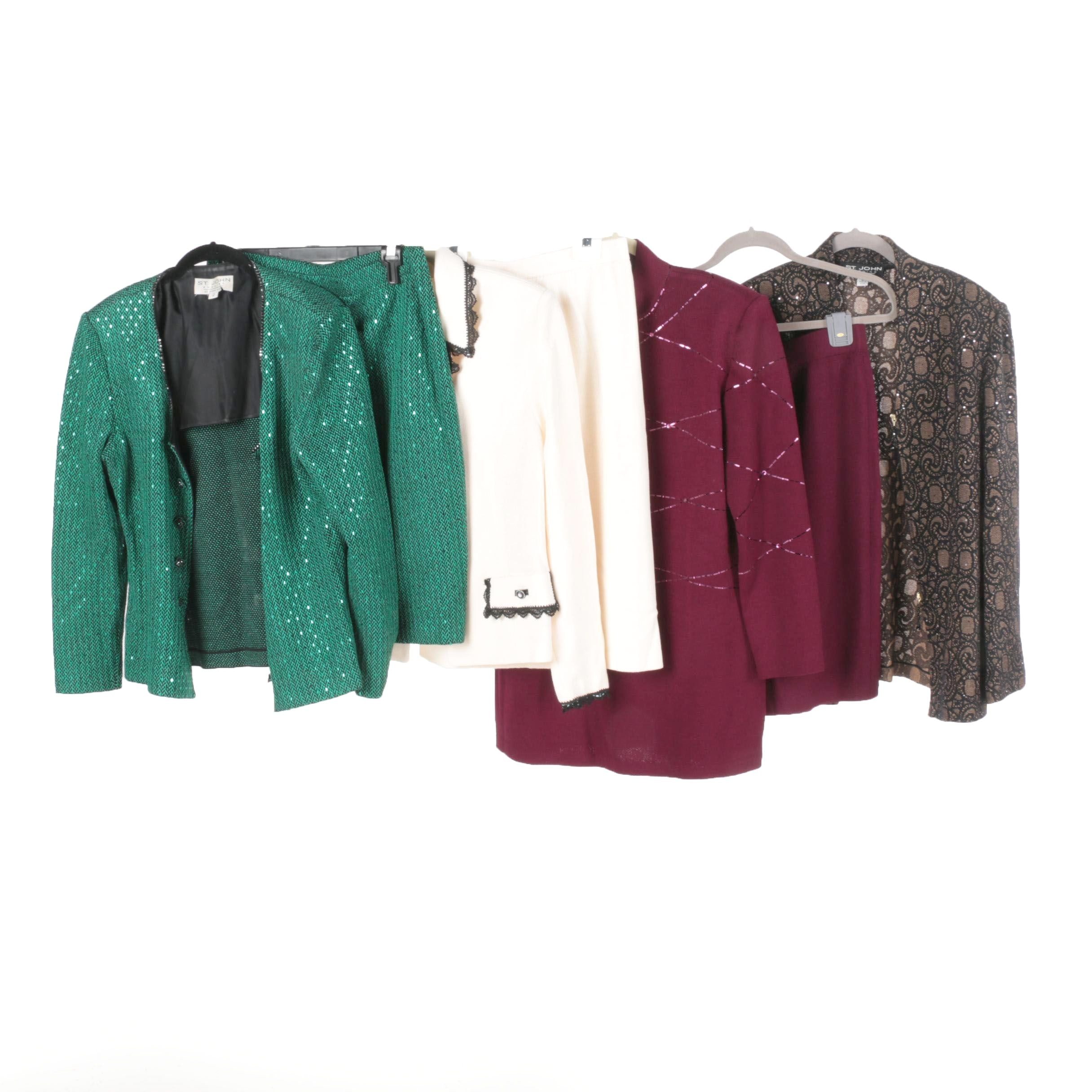 St. Johns Evening Skirts Suits and Jacket