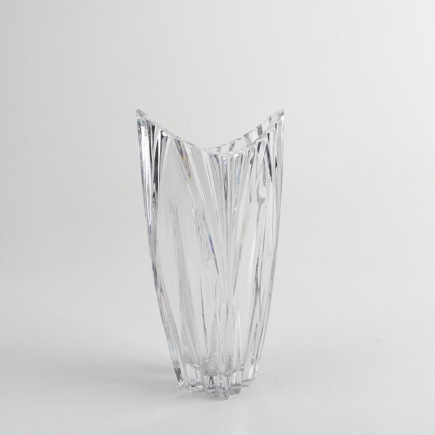 Gorham Esprit Crystal Vase Ebth