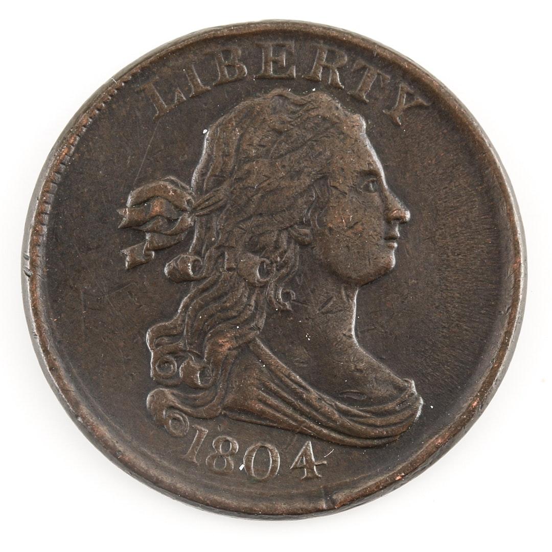 1804 Draped Bust Half-Cent