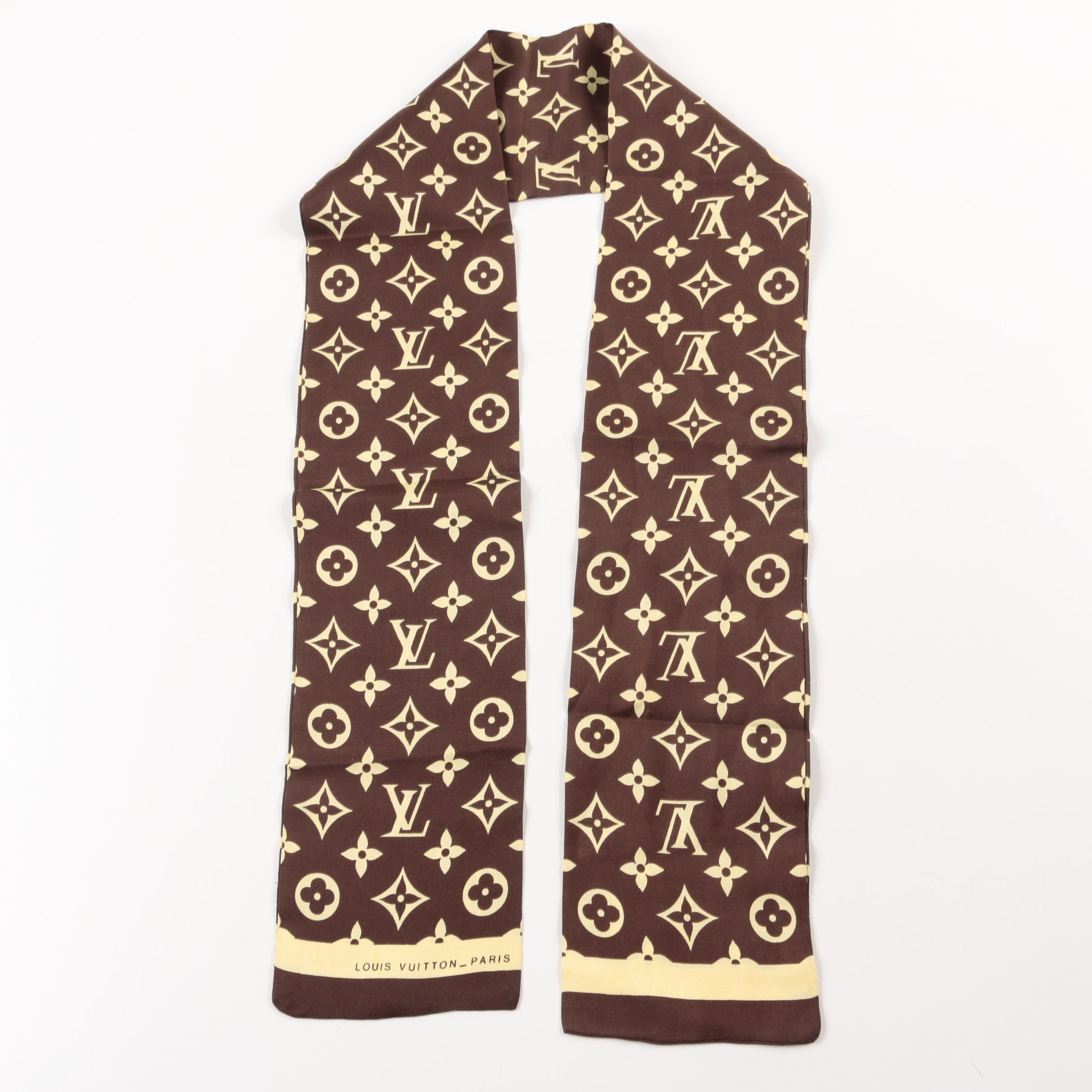 Louis Vuitton Monogram Scarf