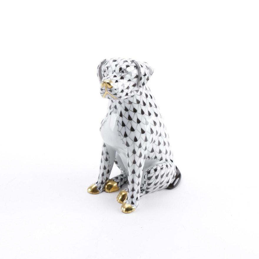 Herend Hungary Dog Figurine