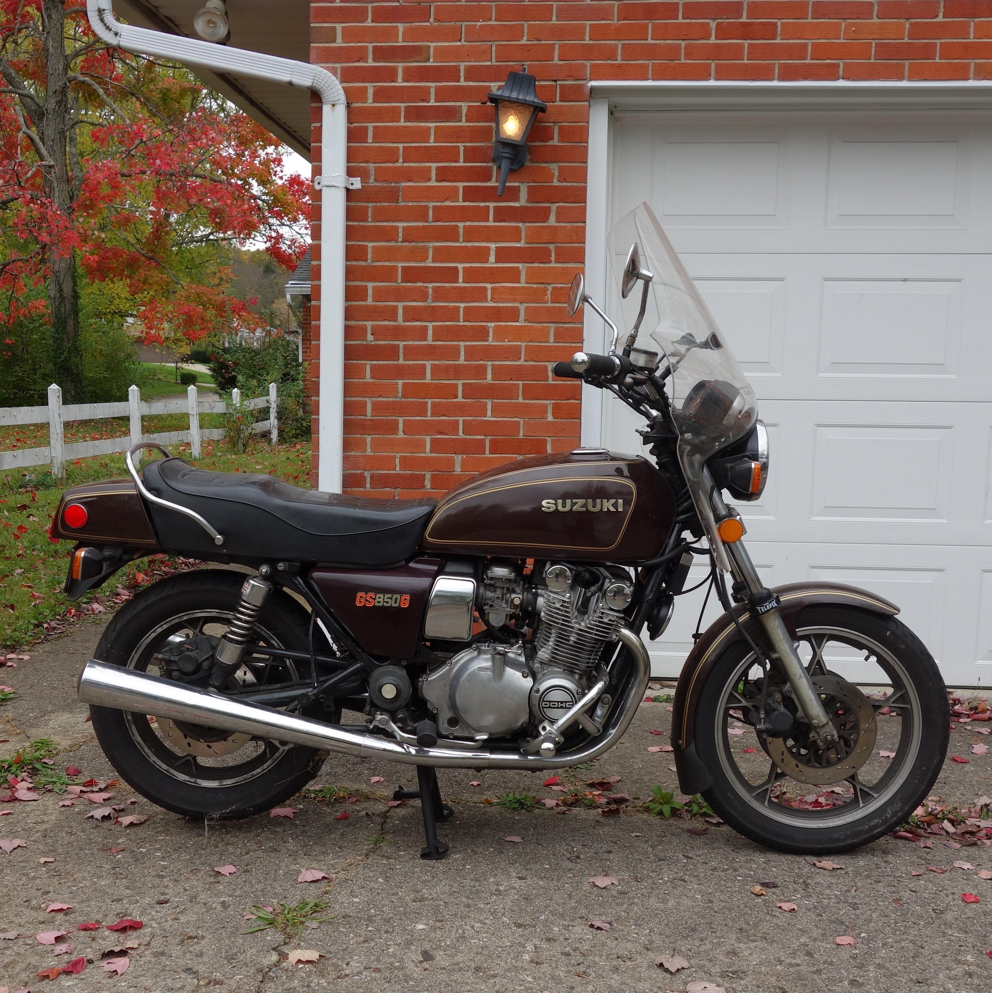 1981 Suzuki Motorcycle