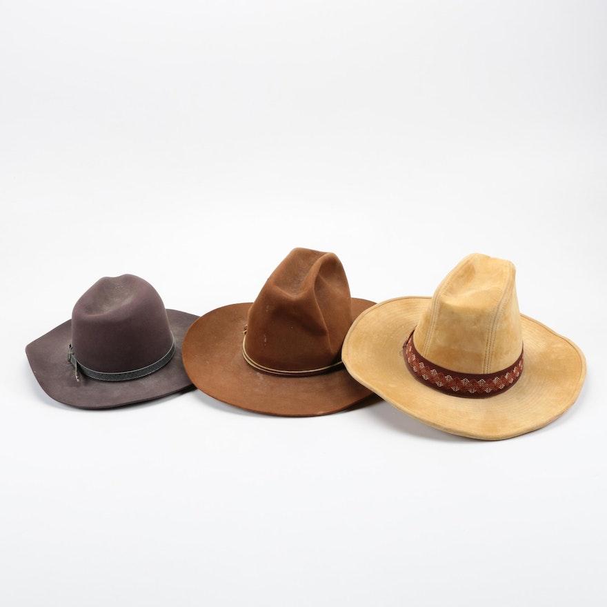 6800489f4355d Men s Cowboy Hats Including Larry Mahan   EBTH