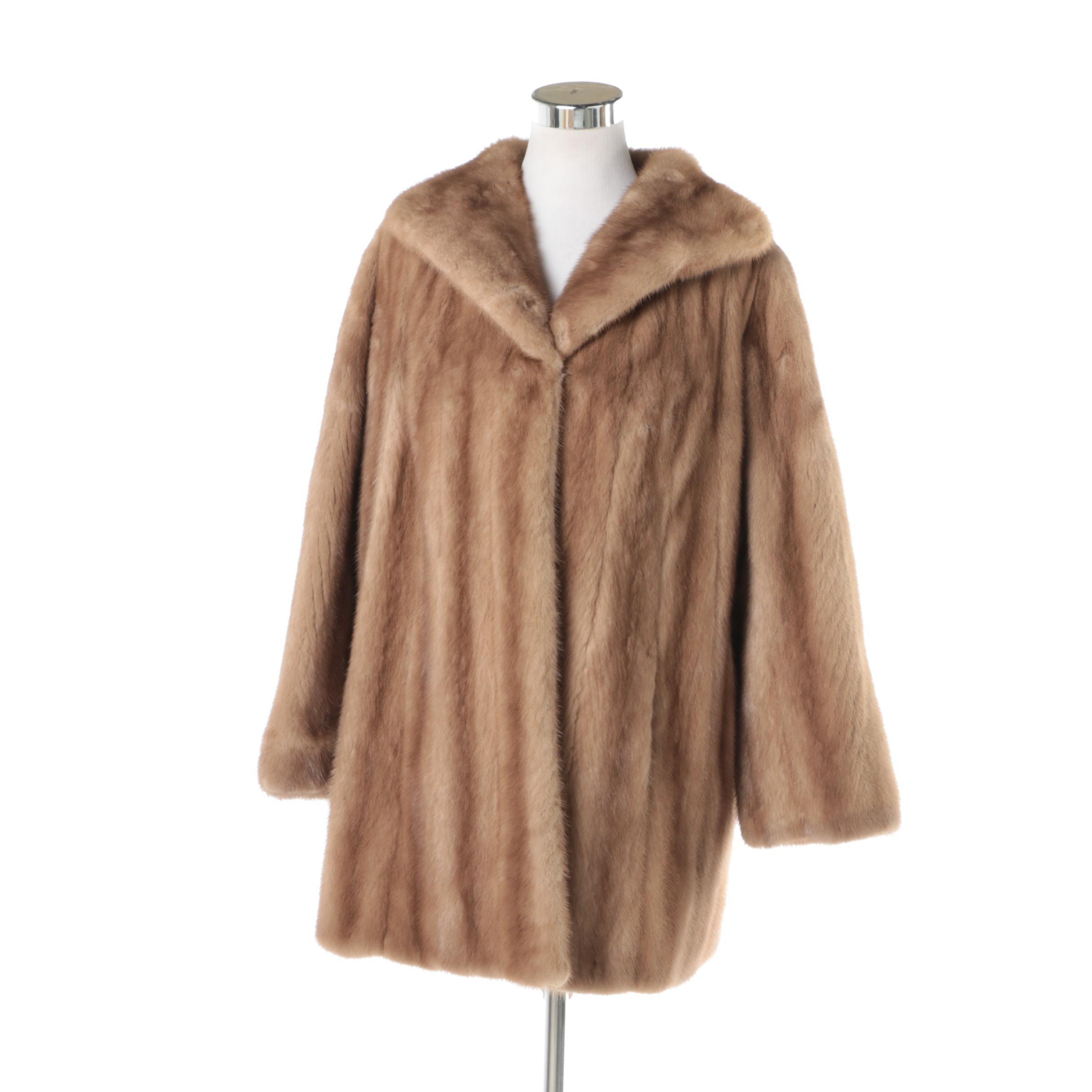 Women's Vintage Mink Fur Coat : EBTH