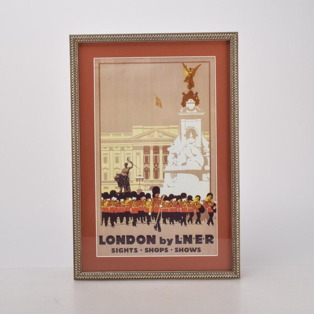 "1930s Travel Advertisement ""London by LNER"""