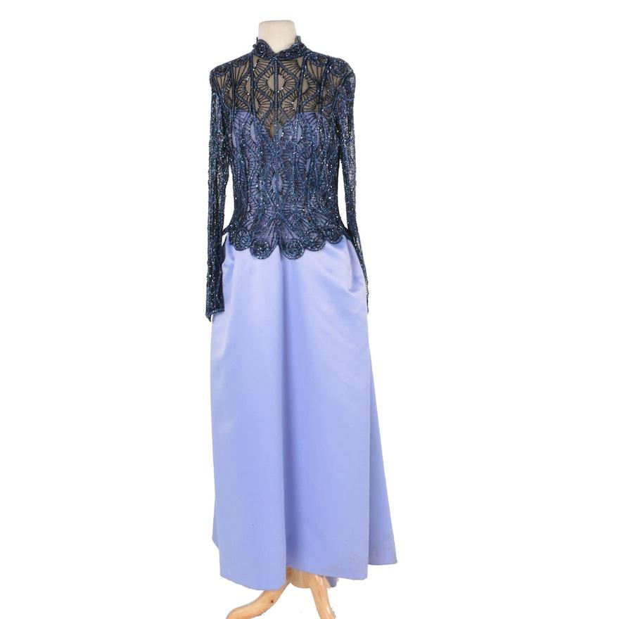 Vintage 1980s Bob Mackie Beaded Gown : EBTH