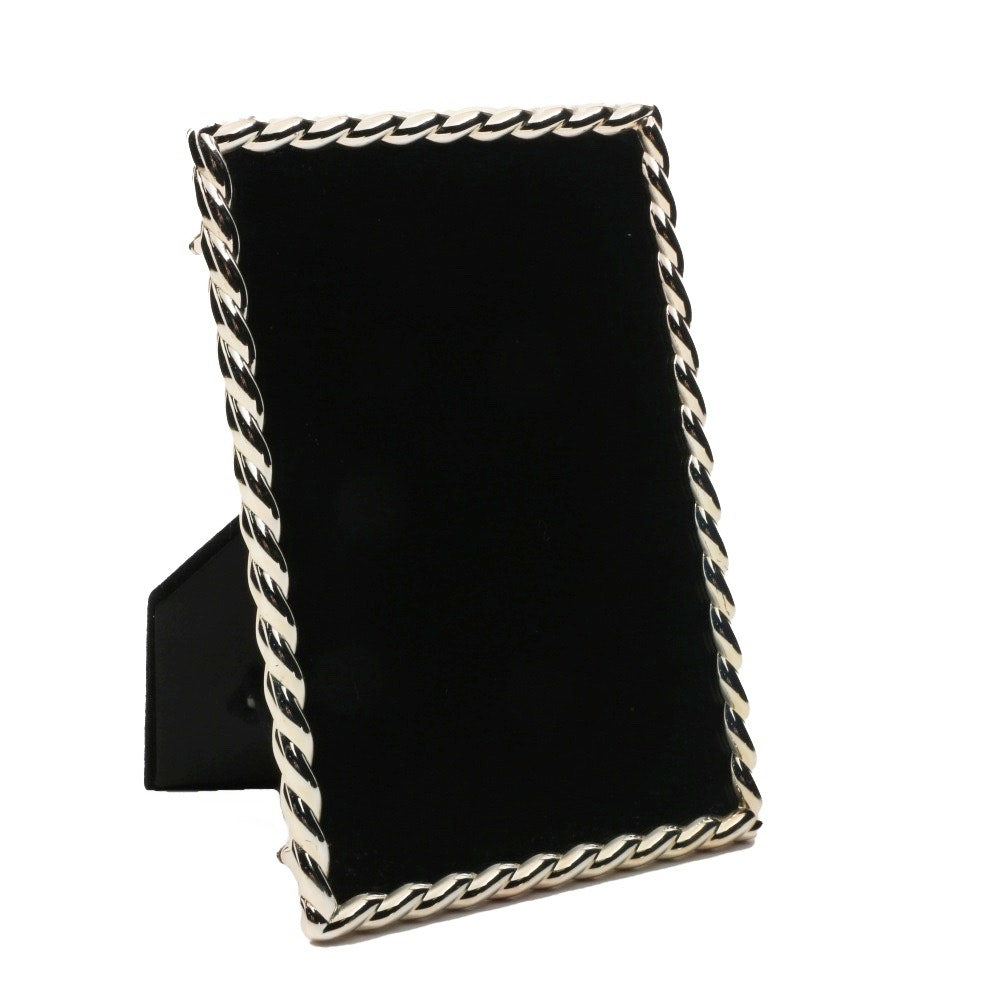 Silver Tone Picture Frame