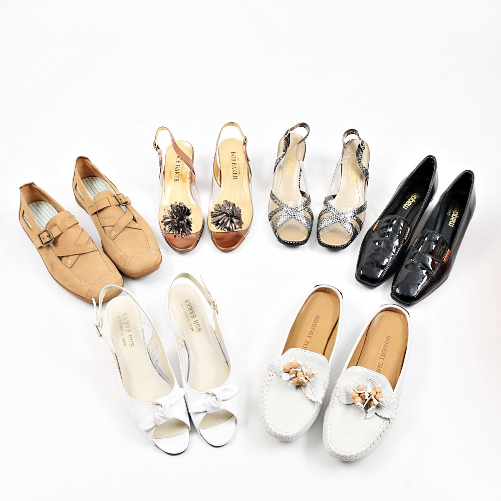 Six Pairs of Women's Shoes