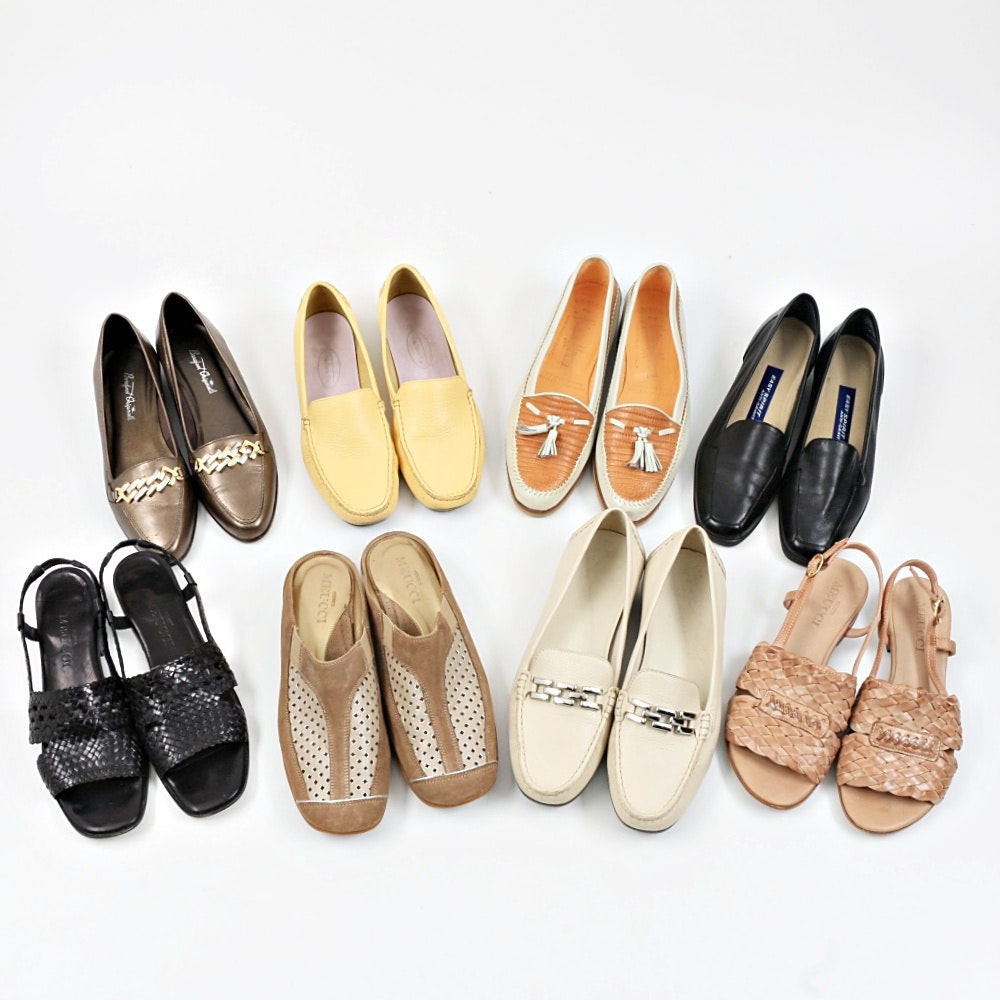 Wardrobe of Women's Flats, Eight Pair