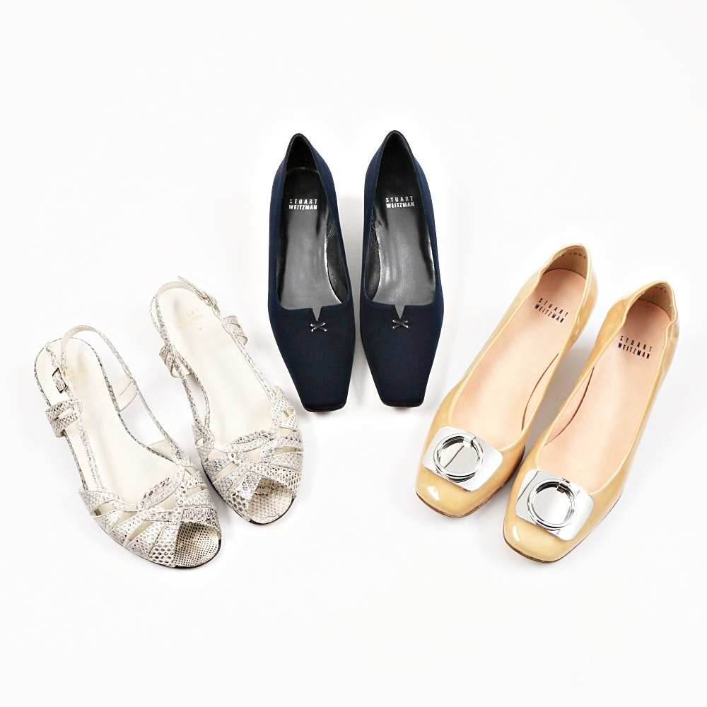 Three Pair of Stuart Weitzman Shoes