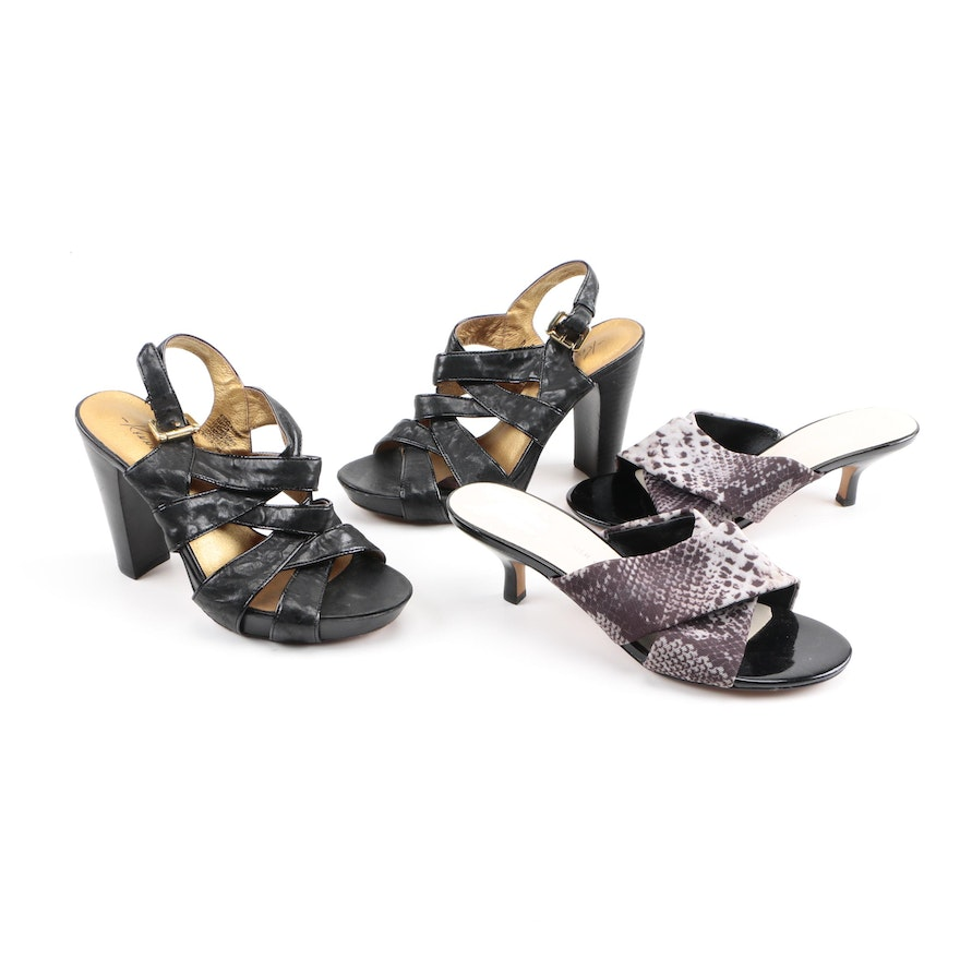 0a5e242bcdc3 Kenneth Cole and Donald J Pliner Sandals   EBTH