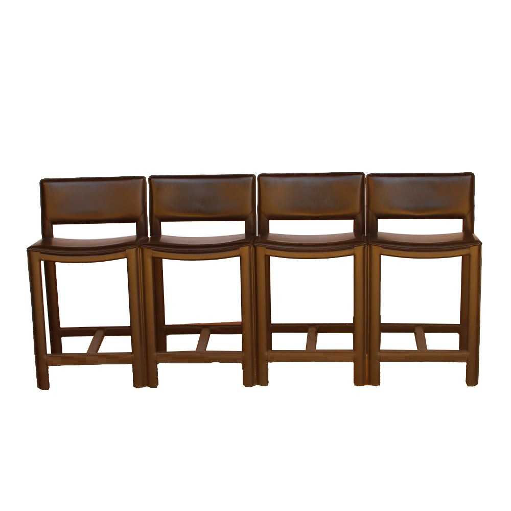 Set of Contemporary Counter Stools by Maria Yee Inc.