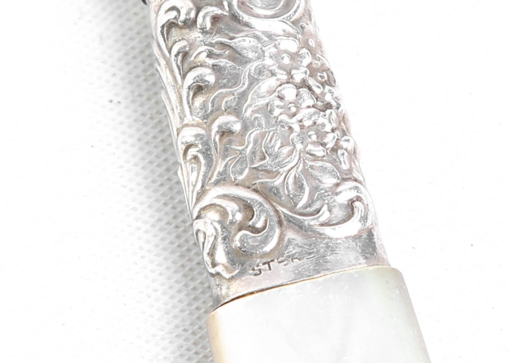Gorham Sterling Silver Quot Kensington Quot Serving Fork And Other