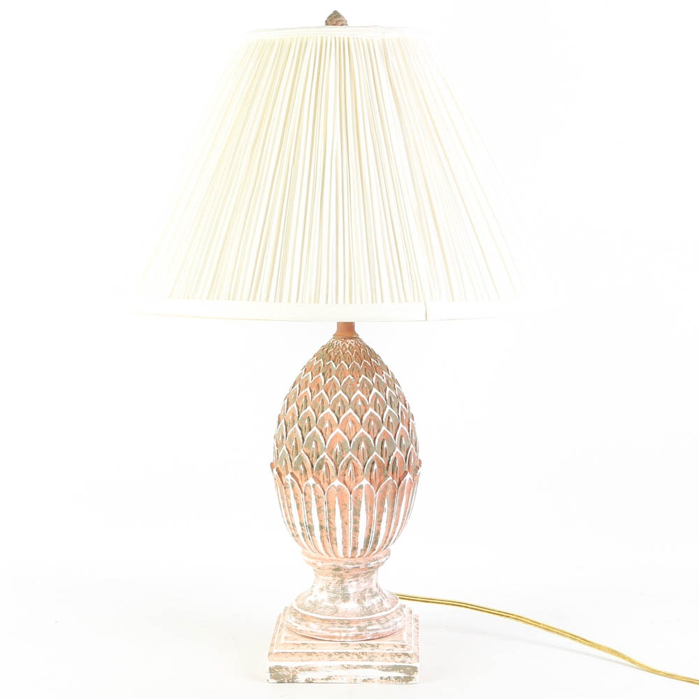 Ceramic Artichoke Table Lamp ...