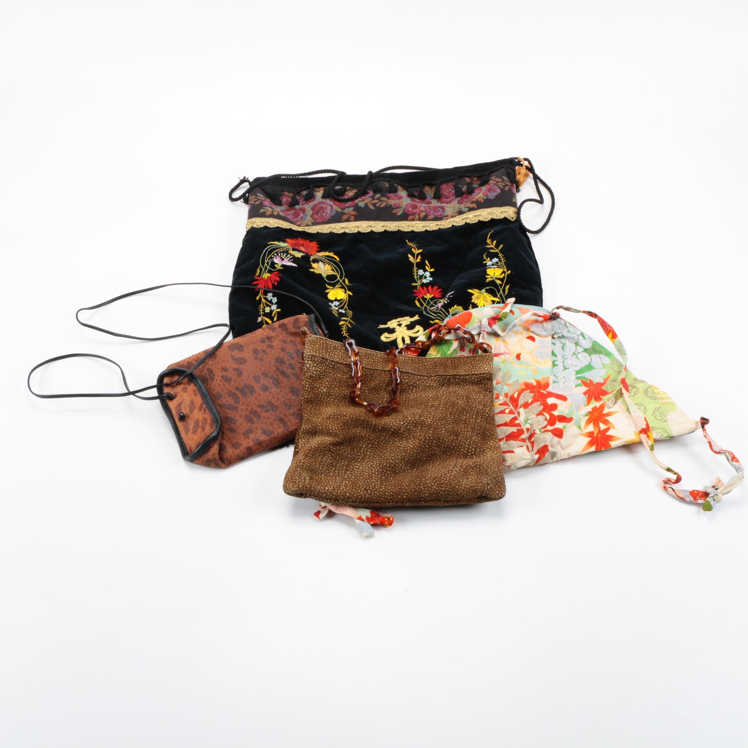 Vintage Handbags Including Henri Bendel and Morris Moskowitz
