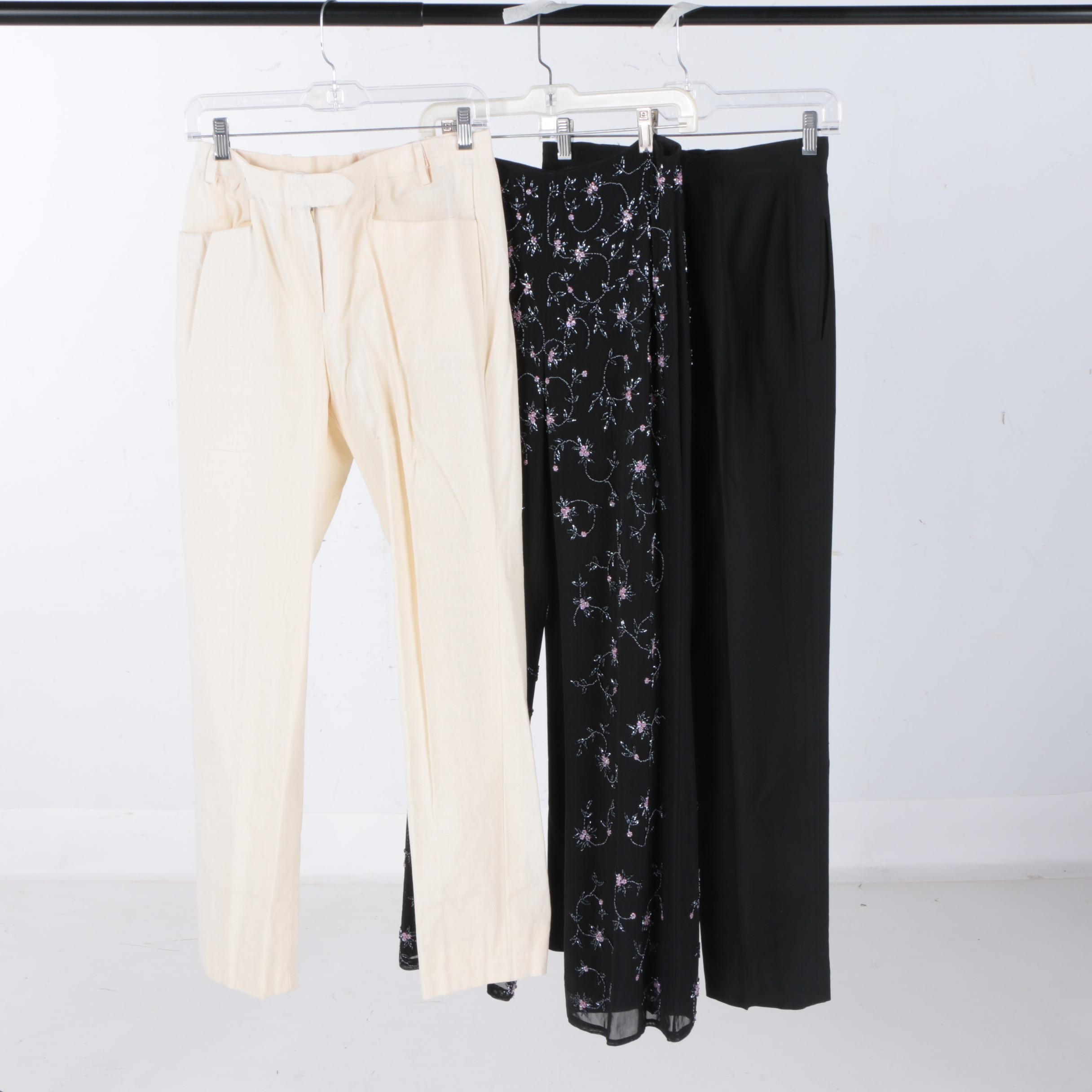 Woman's Pants Including Laundry and Gianfranco ferrre