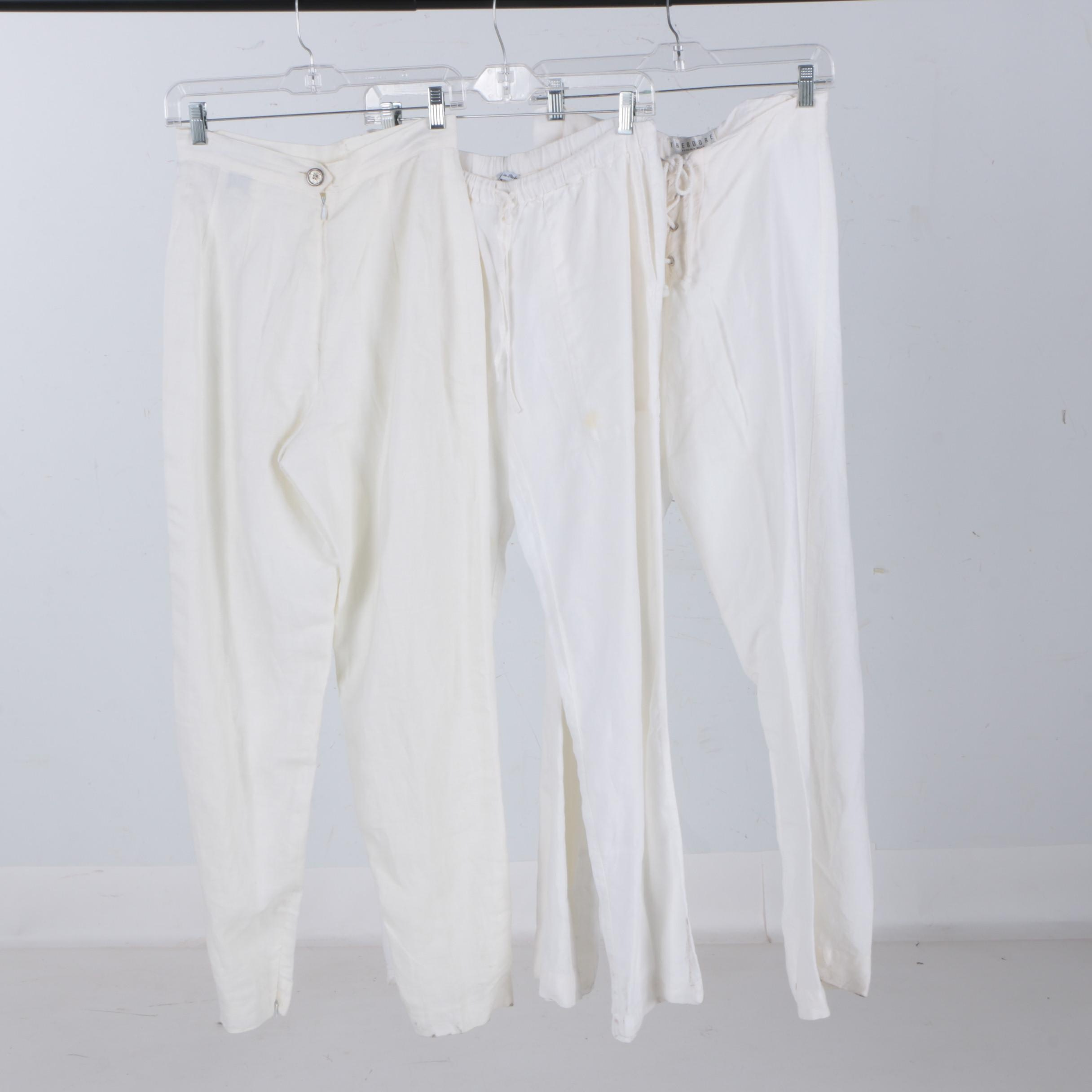 Women's Linen Pants Including Gemma Kahng