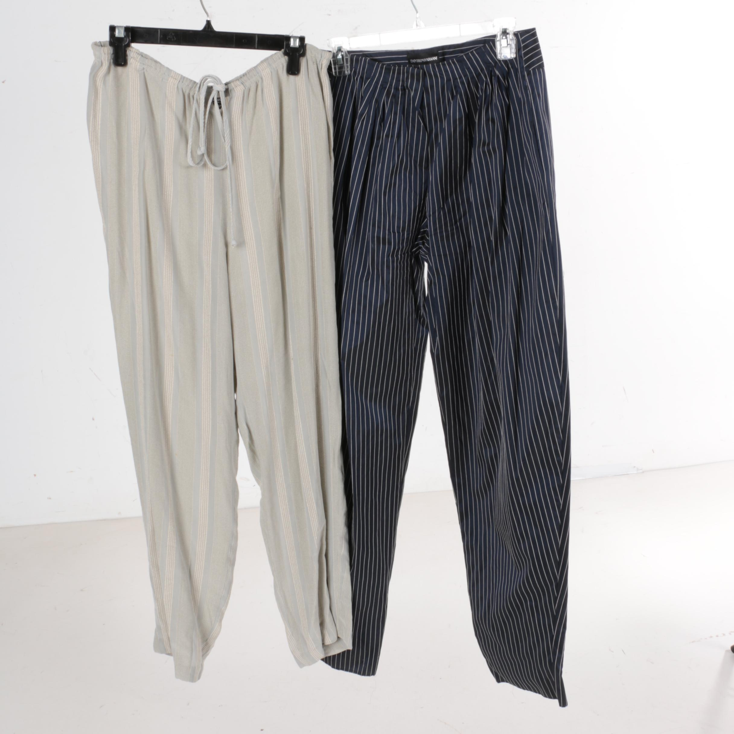 Women's Pants Including Giorgio Armani