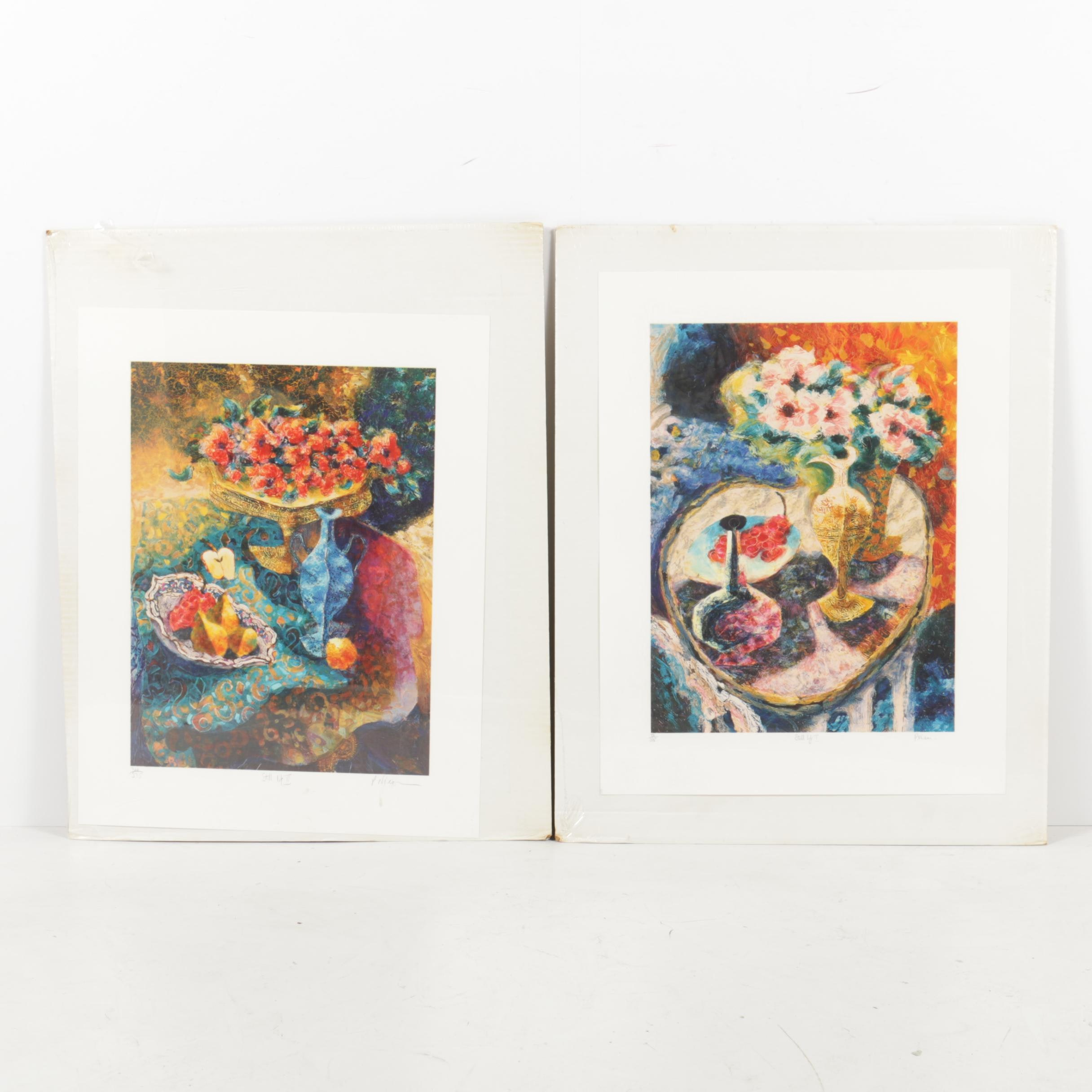 "Peter Nixon Limited Edition Serigraphs ""Still Life I"" and ""Still Life II"""
