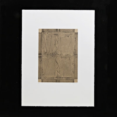 Tom Levine Limited Edition Etching on Paper