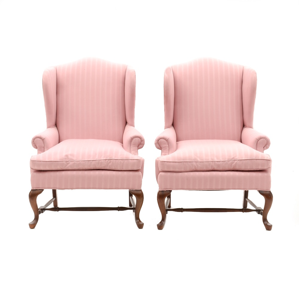 Beau Matching Wingback Chairs By Fairfield ...