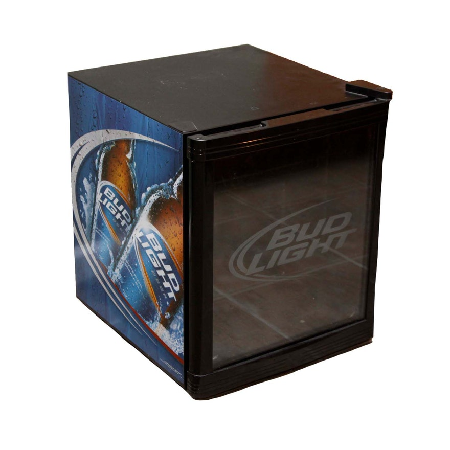 Bud Light Mini Refrigerator Ebth