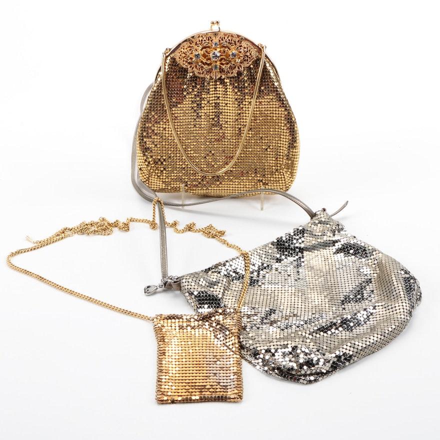 Metal Mesh Handbags Including Whiting Davis