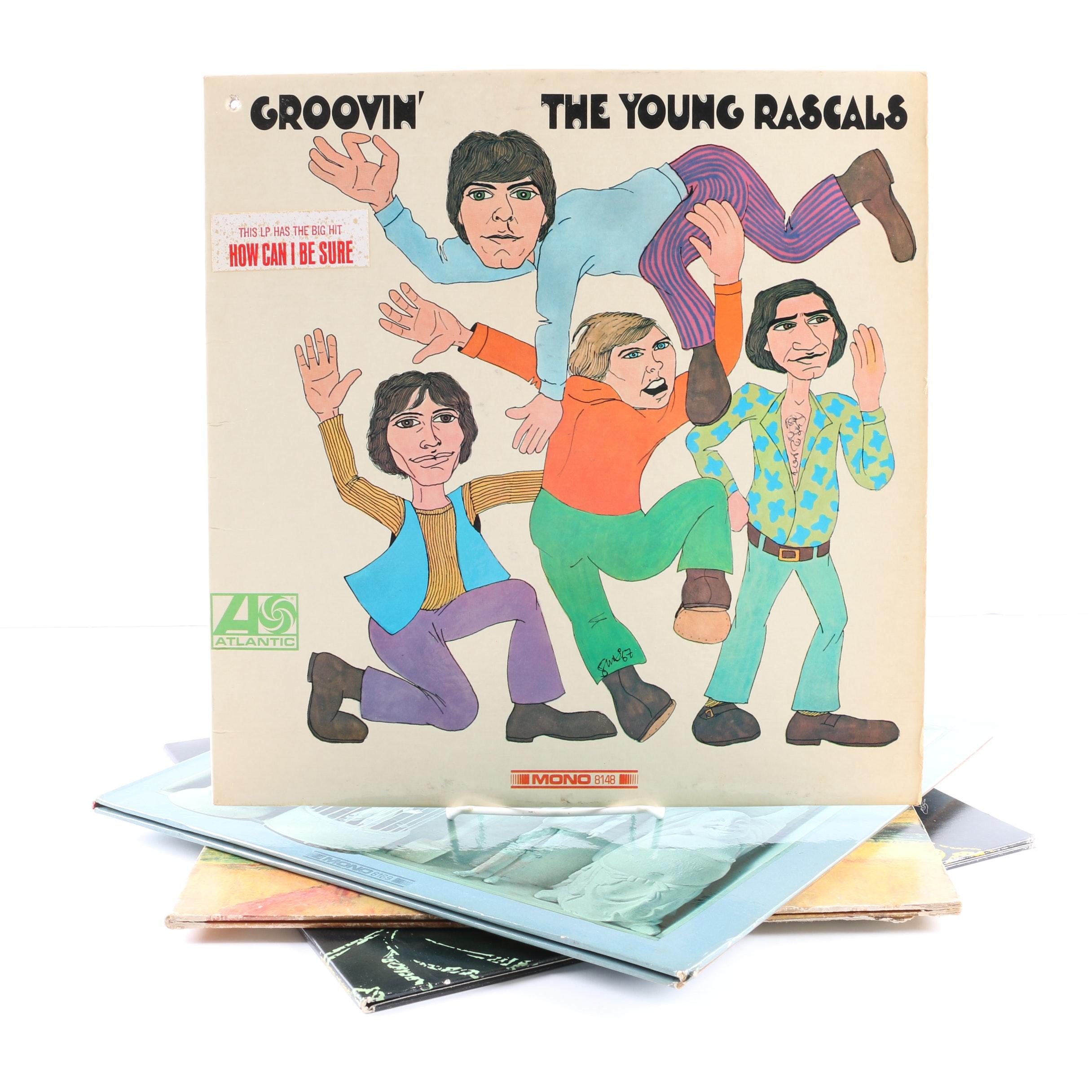 "The Rascals LPs Including ""Groovin'"" Original US Mono Pressing"