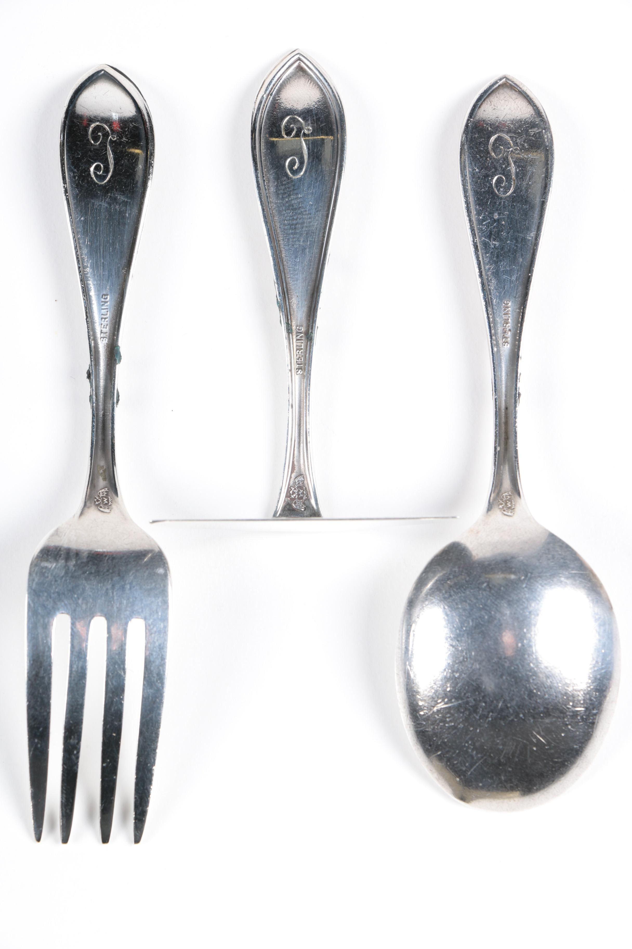 Crump Auto Sales >> Sterling Silver Spoons Featuring Shreve, Crump & Low and Gorham : EBTH
